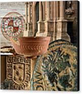 Composition For Poster Xiv Jornadas De Estudios Calagurritanos Canvas Print by RicardMN Photography