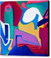 Composition In See Canvas Print by Diane Fine