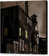 Condemned Canvas Print by Colleen Kammerer