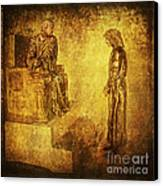 Condemned Via Dolorosa1 Canvas Print by Lianne Schneider