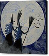 Conjuring Constellations Canvas Print by Christine Altmann