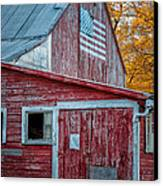 Connecticut Farmstand Canvas Print by Thomas Schoeller