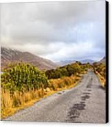 Connemara Roads - Irish Landscape Canvas Print by Mark Tisdale