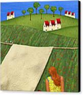 Cool Breeze Canvas Print by Anne Klar
