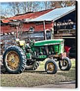 Coosaw - John Deere Tractor Canvas Print by Scott Hansen
