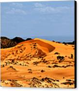 Coral Pink Sand Dunes Utah Canvas Print by Christine Till