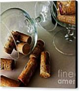 Corks 2 Canvas Print by Cheryl Young