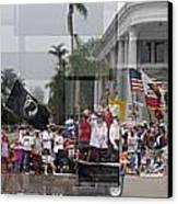 Coronado Fourth Of July Parade Canvas Print by Stephen Farley