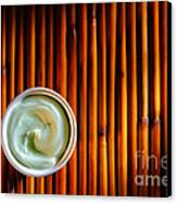 Cosmetic Cream Canvas Print by Olivier Le Queinec