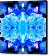 Cosmic Kaleidoscope 1 Canvas Print by The  Vault - Jennifer Rondinelli Reilly