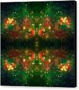 Cosmic Kaleidoscope 3 Canvas Print by The  Vault - Jennifer Rondinelli Reilly