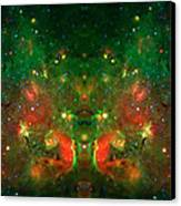 Cosmic Reflection 1 Canvas Print by The  Vault - Jennifer Rondinelli Reilly