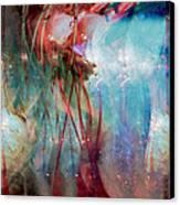 Cosmic String Canvas Print by Linda Sannuti