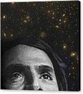 Cosmos- Carl Sagan Canvas Print by Simon Kregar
