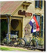 Country Antiques Canvas Print by Julie Penney