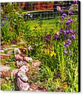 Country Garden Canvas Print by Omaste Witkowski