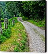 Country Road Canvas Print by Frozen in Time Fine Art Photography