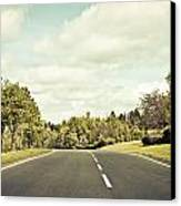Country Road Canvas Print by Tom Gowanlock