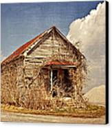Country Schoolhouse  Canvas Print by Marty Koch
