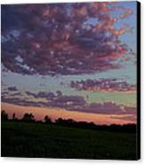 Country Sky Canvas Print by Jame Hayes