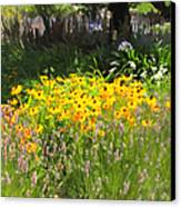 Countryside Cottage Garden 5d24560 Canvas Print by Wingsdomain Art and Photography