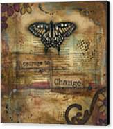 Courage To Change Canvas Print by Shawn Petite