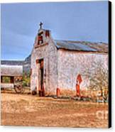 Cowboy Church Canvas Print by Tap  On Photo