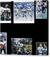 Cowboys Triple Threat  Autographed Reprint Canvas Print by James Nance