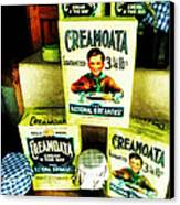 Creamoata - Cream  O' The Oat Canvas Print by Steve Taylor