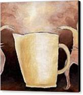 Creator Of The Coffee Canvas Print by Keith Gruis