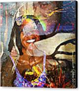 Creolization - Descendants Surviving Tribalism Canvas Print by Fania Simon
