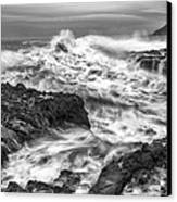 Cresting Wave Canvas Print by Jon Glaser