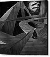 Crossroad Canvas Print by Jack Zulli