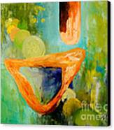 Cue L'orange Canvas Print by Larry Martin