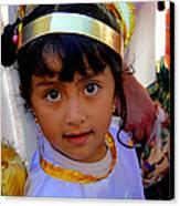 Cuenca Kids 246 Canvas Print by Al Bourassa