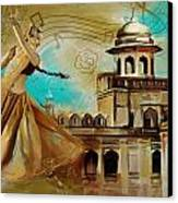 Cultural Dancer Canvas Print by Catf