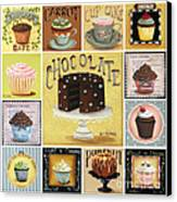 Cupcake Mosaic Canvas Print by Catherine Holman