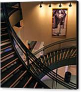 Curly's Stairway Canvas Print by Bill Pevlor
