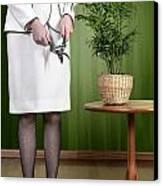 Cutting Plant Canvas Print by Joana Kruse
