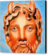 Cyprus - Zeus Canvas Print by Augusta Stylianou