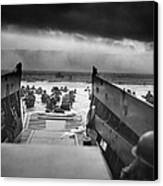 D-day Landing Canvas Print by War Is Hell Store