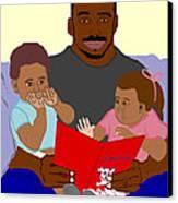 Daddy's Bundles Canvas Print by Pharris Art