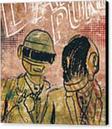 Daft Punk  Canvas Print by Jackson