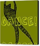 Dance Dance Dance Canvas Print by Michelle Calkins