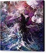 Dance In The Seas Canvas Print by Rachel Christine Nowicki