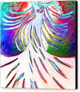Dancer 4 Canvas Print by Anita Lewis