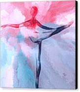 Dancing In Heaven Canvas Print by Stefan Kuhn
