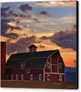 Danny's Barn Canvas Print by Darren  White