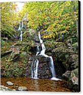 Dark Hollow Falls Canvas Print by Metro DC Photography