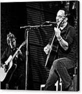 Dave Matthews And Tim Reynolds Canvas Print by The  Vault - Jennifer Rondinelli Reilly